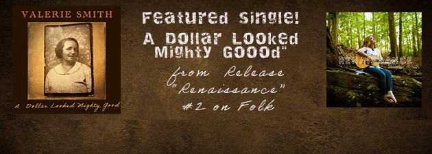 VALERIE SMITH|#2 on Folk Album Chart & #2 on Folk Artist Chart for September.