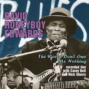 """HONEYBOY"" EDWARDS|Blues/Country Blues/Folk"